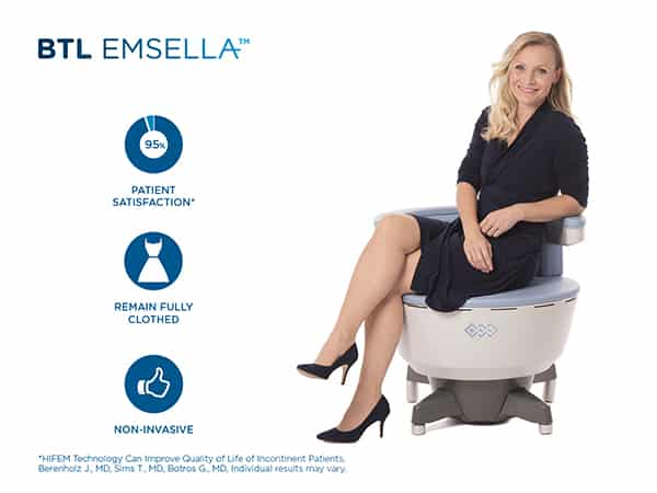 Emsella Chair Benefits