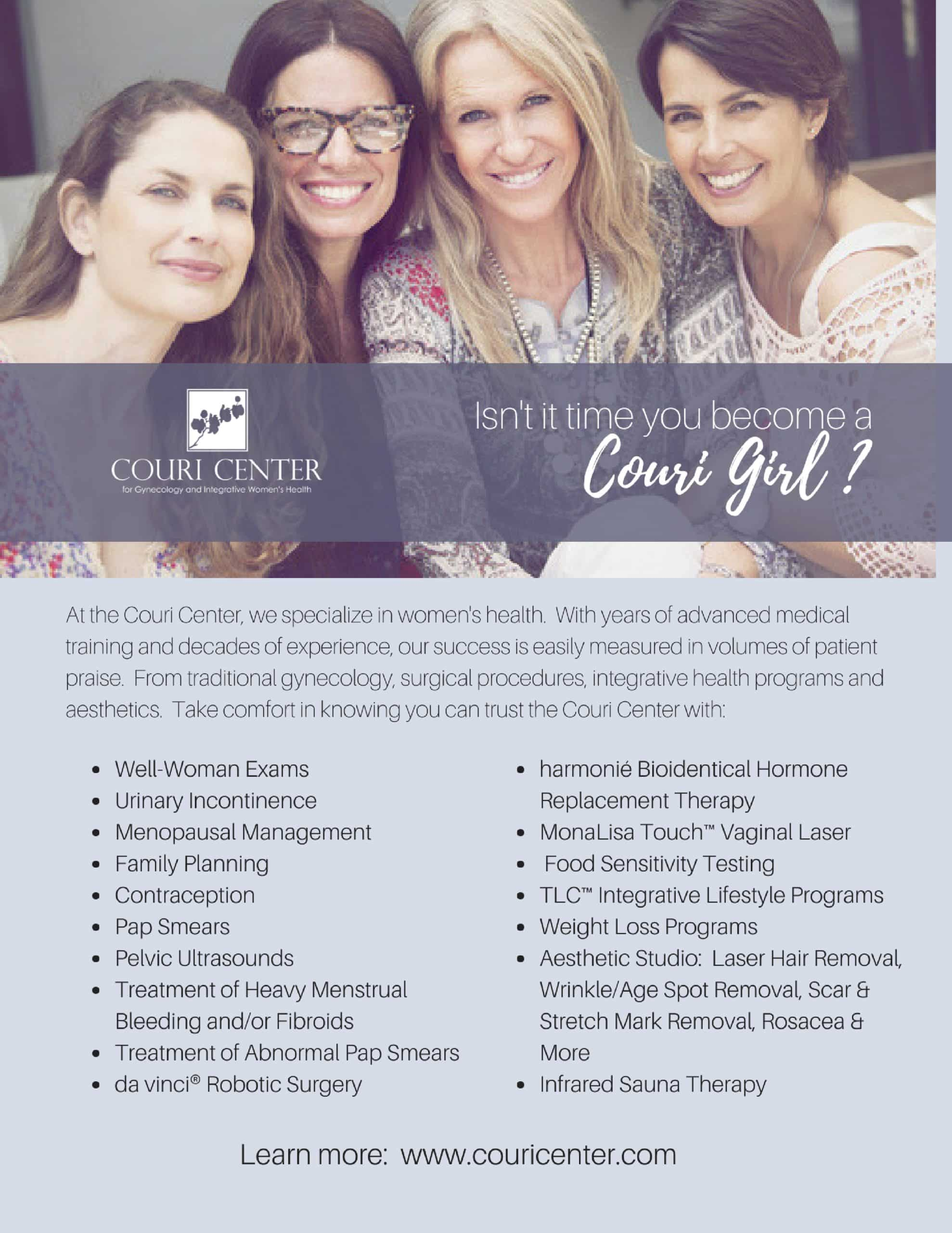 Isn't it time you became a Couri Girl?