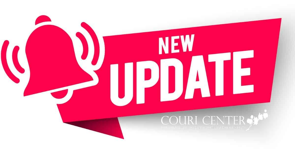 New Update from Couri Center
