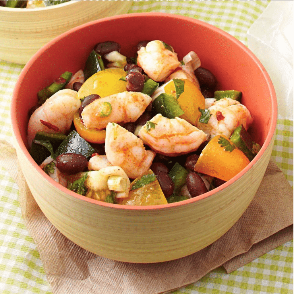 Zesty Shrimp and Black Bean Salad Recipe