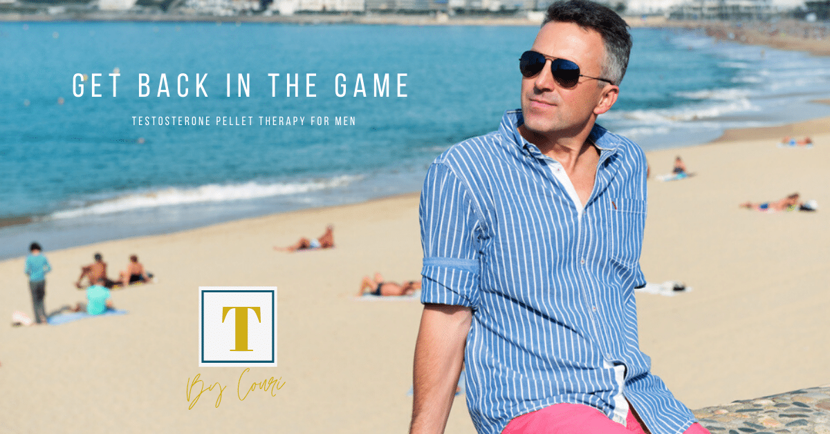 Get Back in the Game - Testosterone Pellet Therapy for Men